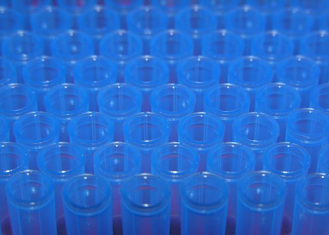 Blue Pipette Tips Blue Testing Laboratory Equipment Tips Pipette
