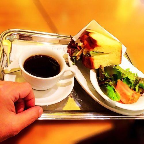 サンドイッチランチ♪ Yummy Lunch Enjoying Life Relaxing