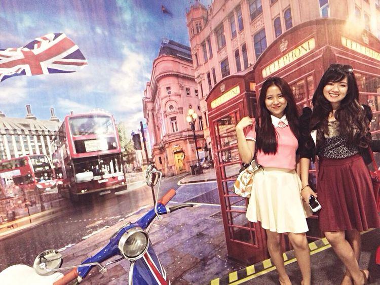 Urban London Asian Girl Twins Enjoying Life Live, Love, Laugh Sweet Ootd