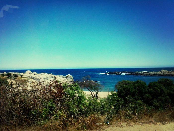 Pocos lugares como este. First Eyeem Photo Playa Chilena Naturaleza Place