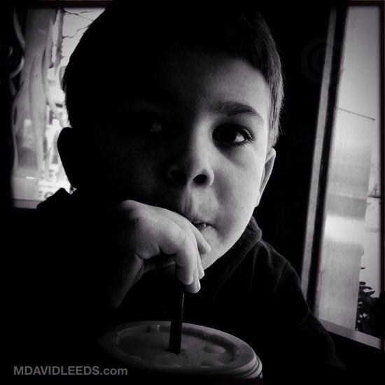 Everything's better with a milkshake. Blackandwhite Mdavidleeds Photos