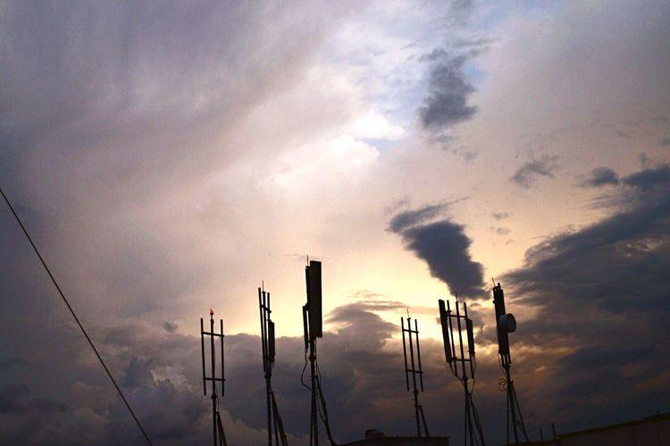 The sky so