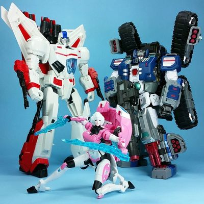 Greetings from Garrus-9 Transformers Arcee Jetfire Fortmax