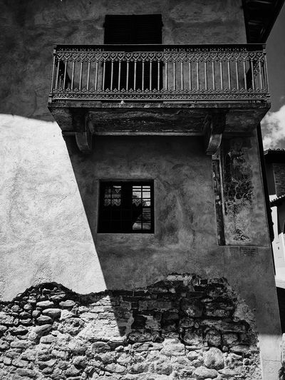 Textures ruin, Italy. Ancient Ancient Civilization Architecture Balcony Black And White Photography Building Exterior Built Structure Close-up Day History Low Angle View No People Outdoors Texture