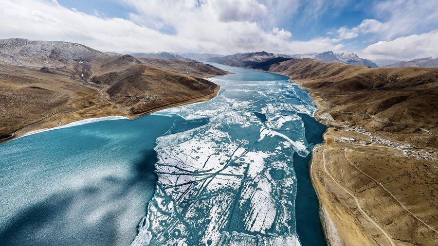 China tibet yambdrok