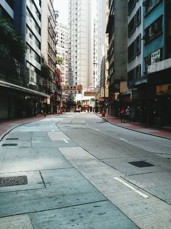 Hong Kong. · Streetphotography Emptiness Concrete Jungle Road Everyday Beauty