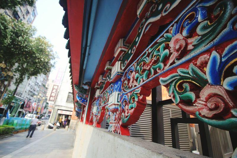 Everyone seems to like this design. ..so here's my input 😁😁😁😁 Eyeem Meetup Taipei Longshan Temple