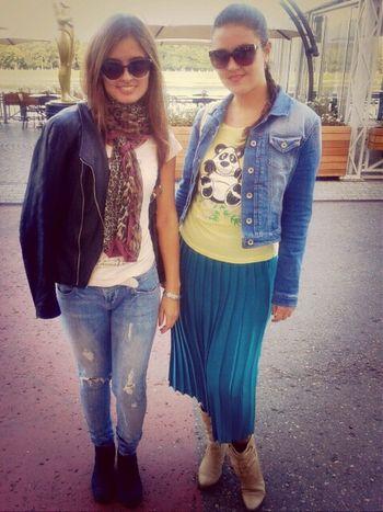 С сестрой