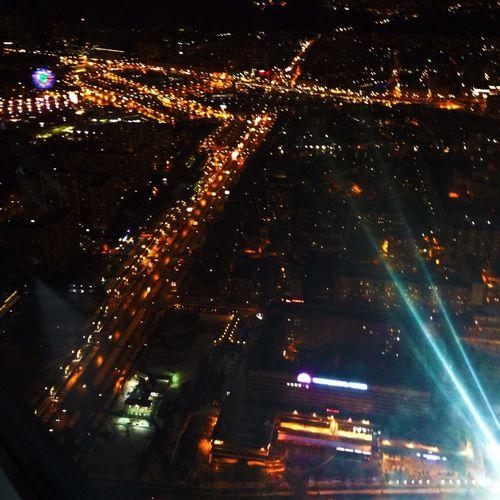 Ostankinotvtower Ostankino Moscow Night Moscow