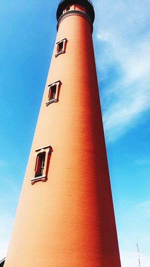 Reach high Low Angle View Building Exterior Built Structure Architecture Tower Nature Lighthouse Cloud - Sky Tall - High No People Day Go Higher Go Higher
