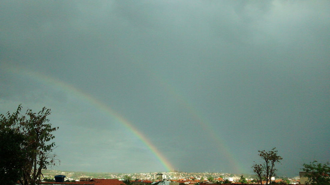 Sky Sky And Clouds Sky_collection Clouds And Sky Misty Day Rain Rainbow Rainbow Sky Rainbow🌈 Rainbow Colors Nature Nature_collection Nature Photography