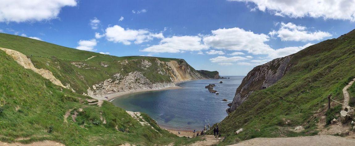 Panorama Panoramic Dorset Beach Sea HDR The Great Outdoors - 2016 EyeEm Awards Clouds