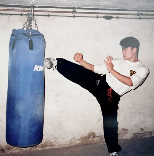 Sometimes you will never know the value of a moment until it becomes a memory. A special memory some 22 years ago when leaving my home country to study martial arts in Germany. Martial Artist Mymemories Nostalgia Timeless Menory Men Full Length Adult Males  Lifestyles Sport Clothing