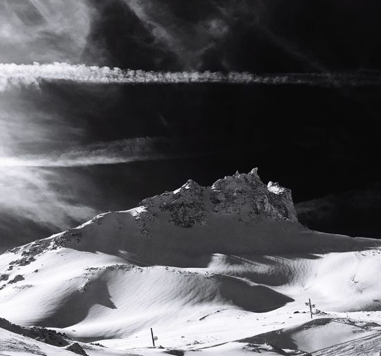 Bec De Bosson Grimentz Zinal Val D'Anniviers Valais Winter Snow Switzerland Alps Outdoor Photography Mountain Blackandwhite Black And White Friday
