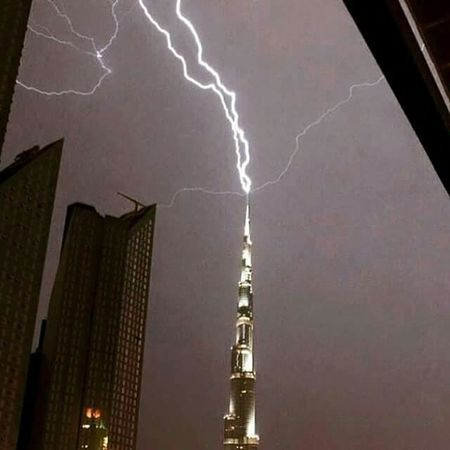 thunder on the sky