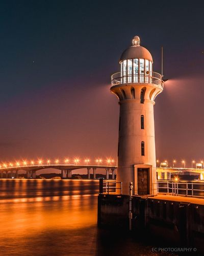 Connected By Travel Lighthouse_lovers Lighthouse Nightphotography Architecture Travel Photography Travel Destinations Wonderful View Cityscape Long Exposure Luxurylifestyle  Reflection Awesome_shots Thisissingapore Lost In The Landscape Landscape Photography Landscape_Collection Ourmoodydays Travel Beautiful Nature iSingaporere EyeEmNewHere