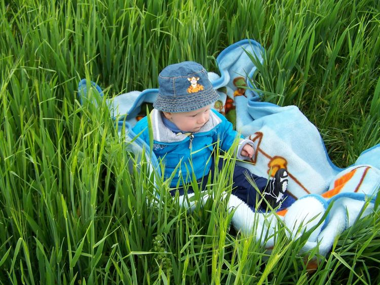 Beauty In Nature Boys Child Childhood Children Only Crown Day Day Dreaming Full Length Grass Lying Down Males  Nature One Person Outdoors People Rural Scene