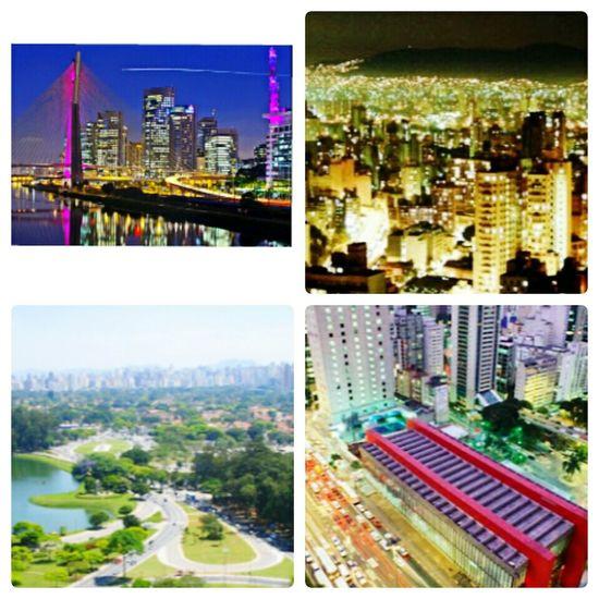 Terra da garoa , terra dos arranha céus . Minha Terra ! São Paulo City S2