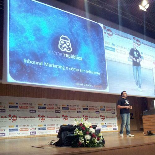 @elqudsi en Cw12 nos habla de como ser relevante Marketingcw Fotoscw