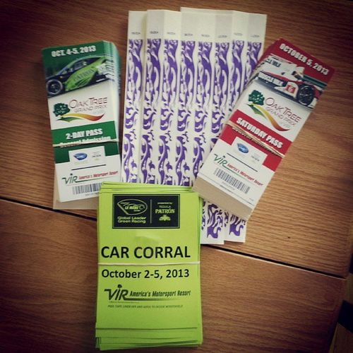 Tis mailing day! @BMWCCA Don't suffer from CorralEnvy - Bmw CarCorral sales for Vir OakTreeGrandPrix Oct. 4&5 close at midnight msreg.us/BMWVIR2013 Mpower RLLRacing bmwusa bmwmotorsports ALMS