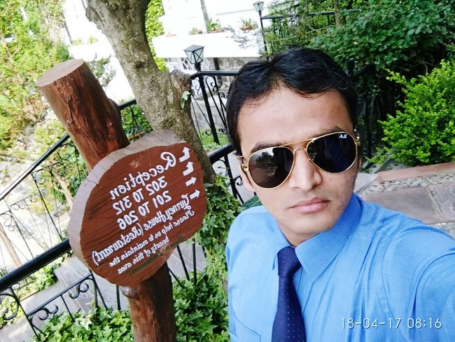 Cool look around Environment... Sunglasses Close-up One Person Sky People Casual Clothing Day Text Outdoors Tree Headshot Portrait One Man Only Only Men