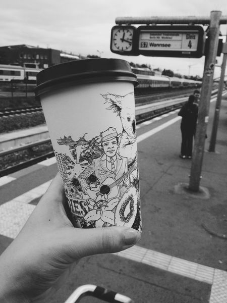 Berlin Coffee Travel Black And White