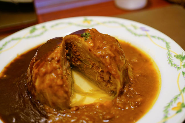 Cabbage rolls(stuffed cabbage) Cabbage Roll Cuisine Curry Demiglas Sauce Roll Stuffed Cabbage Delicious Dinner Food Foodphotography Indoors  Meal Meat No People Ready-to-eat Restaurant Table
