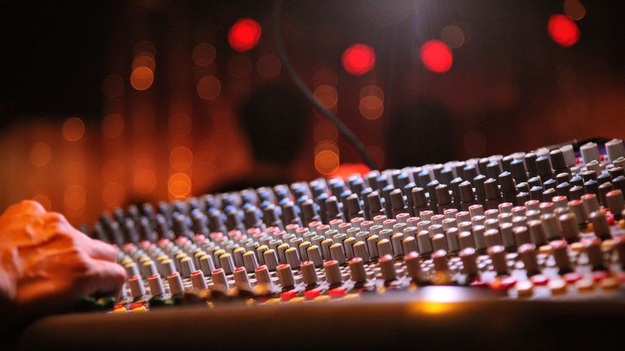Music Night Concert Mixer Mixing Console Sound HUAWEI Photo Award: After Dark