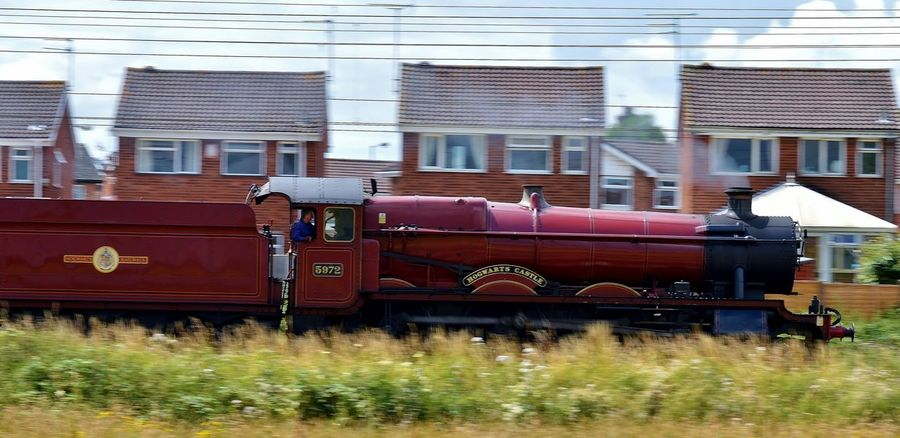 taken 2014 before she went off steam ALL ABOARD! Check This Out Day Fast Harry Potter Harry Potter ⚡ Harrypotter Hi World Hogwarts Hogwarts Express Hogwarts School Of Witchcraft And Wizardry Nikon D3200 Railway Steam Steam Engine Steam Locomotive Steam Trains Train Train Spotting  Traveling Wizard 100likes