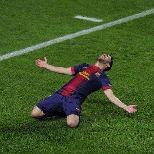 Priceless Celebration. David Villa. Spain's all time top scorer Davidvilla Villamaravilla Barça FCBarcelona  fcbarcelona goal villa laliga