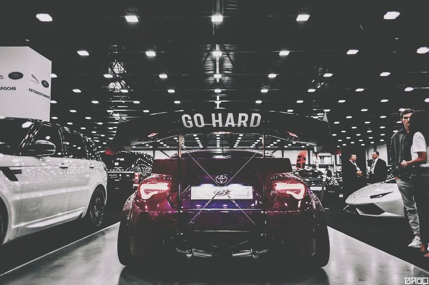 Indoors  Illuminated Night No People Speed Classic Cars Static Stance Cars Car Lowrider Racecar Street Toyota Subaru Scion  Subarubrz Toyotagt86 Scion Fr-S FRS GT86 Brz Stancenation Stanceworks Stancewars