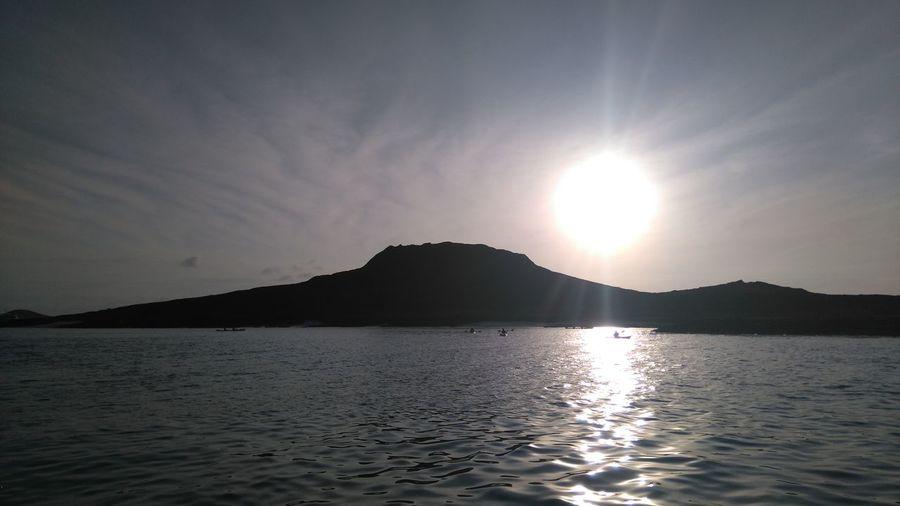 Sunset, galapagos