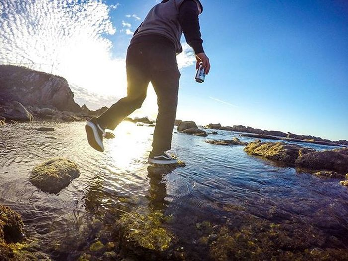 Caught my broski @mfragoza9 walking on water. 🌊 Gopro Goprohero4 Mazatlan Exploring Adventure 2016 Mexico Gopromx LATEnightPost Photooftheday Vacation GoProRealM