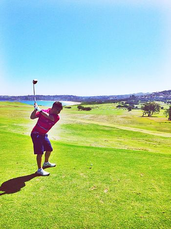 Last round for 2014. Golf ⛳ Golf Course Beach Sport Swing ThatsMe IPhoneography Hi! Hello World Australia