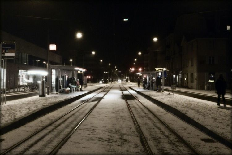 Tram Cold Days Cold Winter ❄⛄