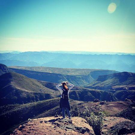 Vista desde Ciudad de Itas Bolivia Potosi Torotoro