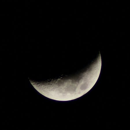 Moon tonight 02/15/13 Nature Sky Moon Space Olympus Astronomy Crescent Moon Omd
