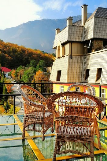 Crimea, Ukraine Architecture Outdoors No People Sky Day Landscape_Collection Clear Sky Tranquil Scene Cafeteria Top View Scenics Nature Landscape Autumn Mountain Beauty In Nature Tranquility Dinner Time Outdoor Multi Colored Amazing Place Autumn Colors Calm Beautiful Day