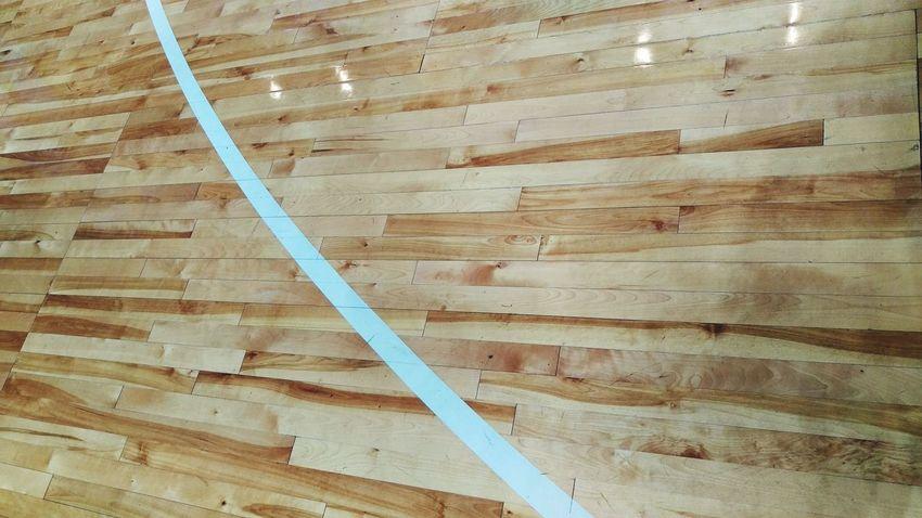 Basketball Court Shinny Floor Timber Floor