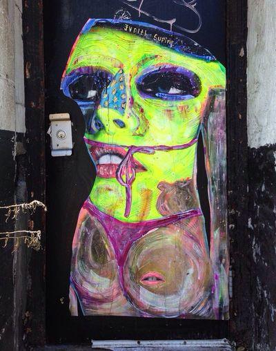 Judith Supine Graffiti Brooklyn Fall 2013