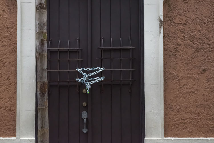 braun grey Architecture Arhitecture Braun Wall Building Exterior Built Structure Cloesed Closed Door Door Doors Enterance Structure
