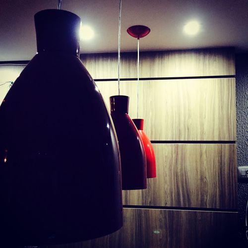 TakeoverContrast Modern Red Illuminated Boanoite Gutenacht BuonaNotte Brasil House Casa
