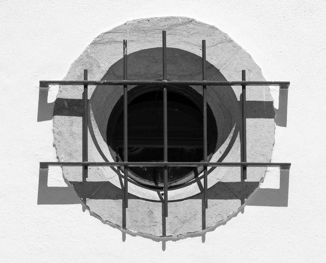 Architecture Black & White Black And White Blackandwhite Blackandwhite Photography Bnw Building Exterior Close-up Eye4photography  EyeEm EyeEm Best Shots EyeEm Bnw EyeEmBestPics Metal Bars Monochrome Outdoors Window