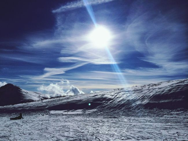 Italy Piancavallo Skylovers Clouds And Sky Nature Sunny Day Sun Sky Mountain View Sun_collection