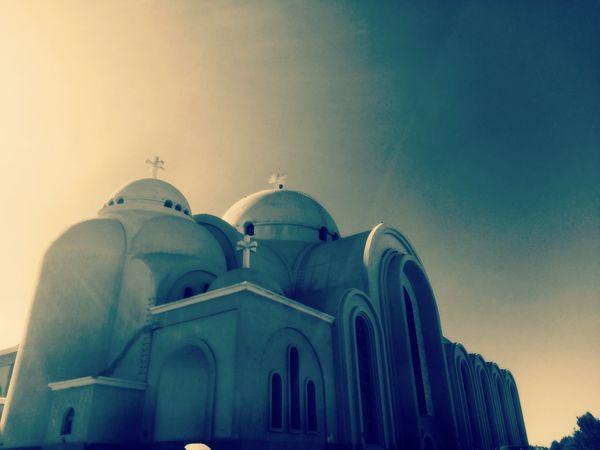 Arch Architecture Dome Low Angle View Travel Destinations Built Structure Sky No People Place Of Worship Outdoors Day