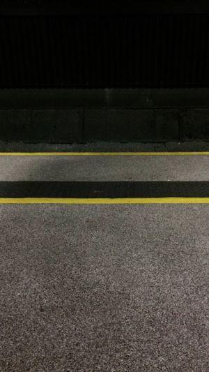All hail symmetry. Symmetrical Public Transportation Lines Yellow Black Dark