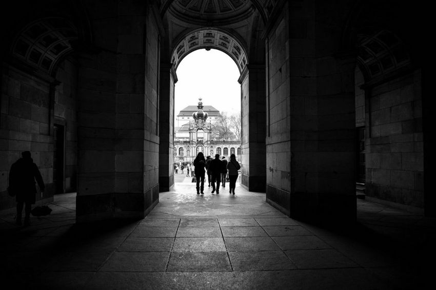 Dresden / Germany Architecture Silhouette History Travel Destinations People Day City Nikonphotography D750 Nikonphotographer EyeEmNewHere Streetphotography The Week On EyeEm Lines, Shapes And Curves Large Group Of People Photooftheday Real People Streetphoto_bw Photos Around You First Eyeem Photo