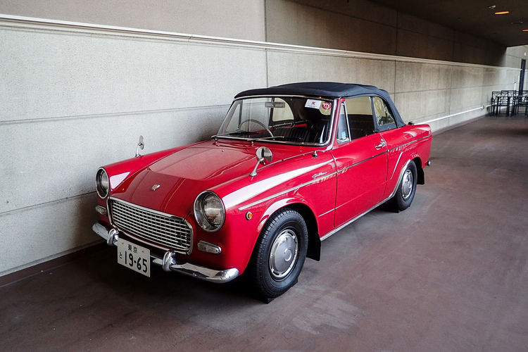 The Drive Red Transportation Car Outdoors Luxury Driving Speed No People Day Old-fashioned Retro Style Classic Classic Car Vehicle Nostalgic  Retro Nostalgia Single Object Car Photography Vintage Cars Showroom Automobile