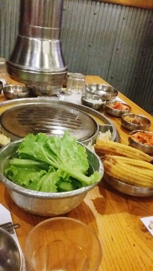 Churros met the korean food . CHURROMANIA Lettucewraps Foodporn❤️ Food And Drink Table Food Healthy Eating UnityIsPower Labor Day Love❤ Enjoying Life Mylife