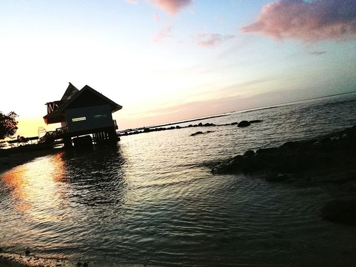 Great morning. Sunrise - Dawn Tawi-tawiway Lovely Weather Beachday 👓👙☀
